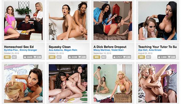 Amazing milf porn site sharing nice hardcore vids