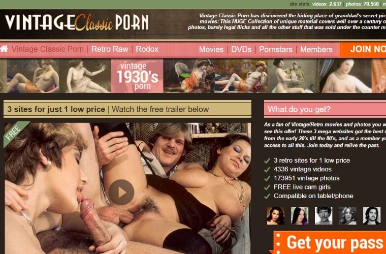 Порно сайт классика