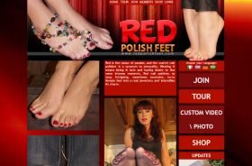 Nice pay porn site for foot fetish lovers.
