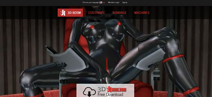 Amazing adult site featuring top notch 3D animation HD videos