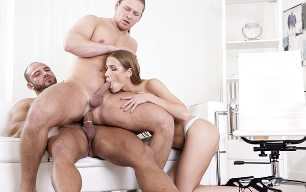 Top xxx site to access class-A threesome HD videos