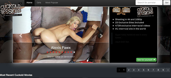Nice xxx site if you like amazing BBC content