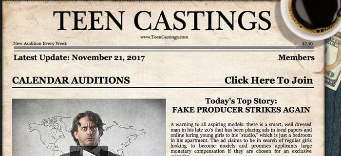 Top porn website offering hot casting material