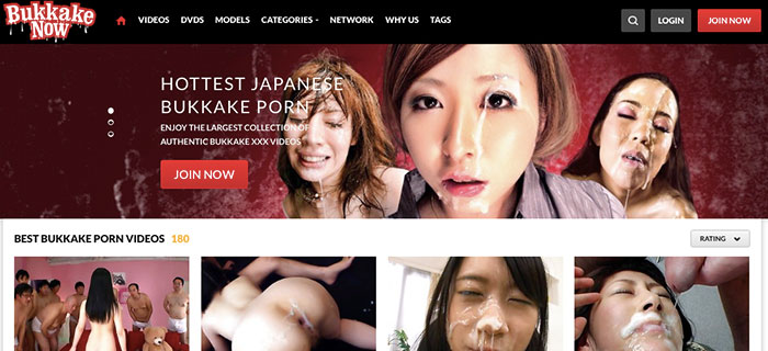 Top xxx site to have fun with awesome bukkake material