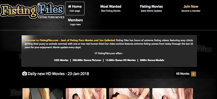 Top adult website to access stunning fisting quality porn