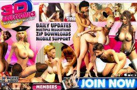 Popular porn site for 3d adult comics.